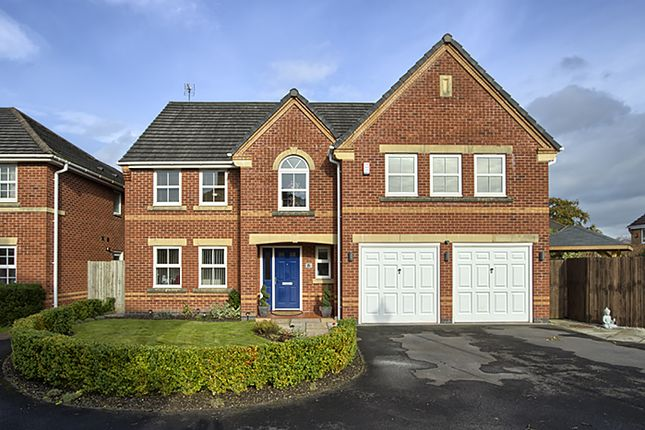 Thumbnail Detached house for sale in Hawthorn Close, Whalley, Clitheroe