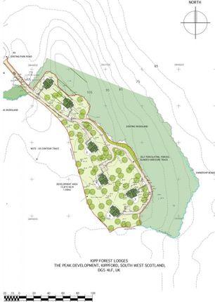Site Plan of Kippford, Dalbeattie DG5