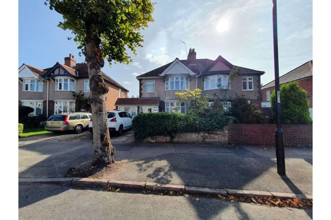 Front View of Moat Avenue, Coventry CV3