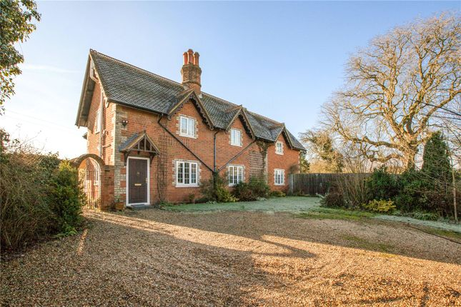 Thumbnail Detached house for sale in Lambwood Hill, Grazeley, Reading, Berkshire