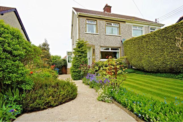 Thumbnail Semi-detached house for sale in Summerhill Park, Bangor