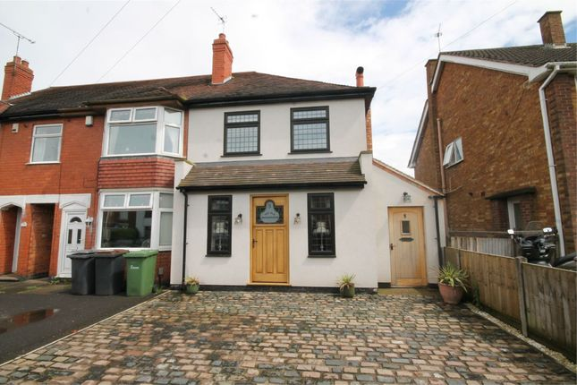 Thumbnail Semi-detached house for sale in Arden Road, Bulkington, Bedworth