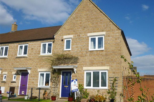 Thumbnail End terrace house to rent in Chaffinch Chase, Gillingham, Dorset