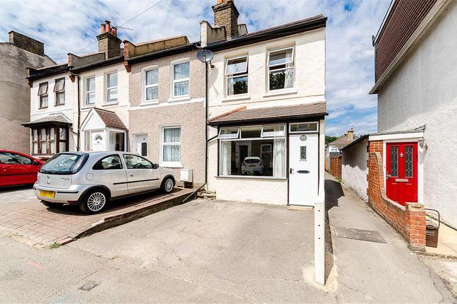 Thumbnail End terrace house for sale in Upper Road, Wallington, Surrey