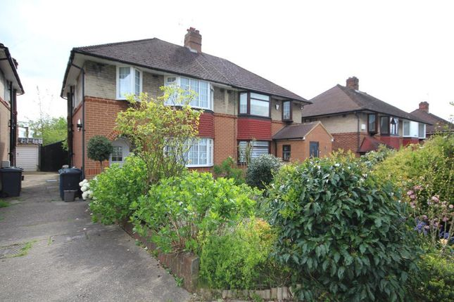 Thumbnail Semi-detached house for sale in Morley Crescent, Edgware, Middlesex