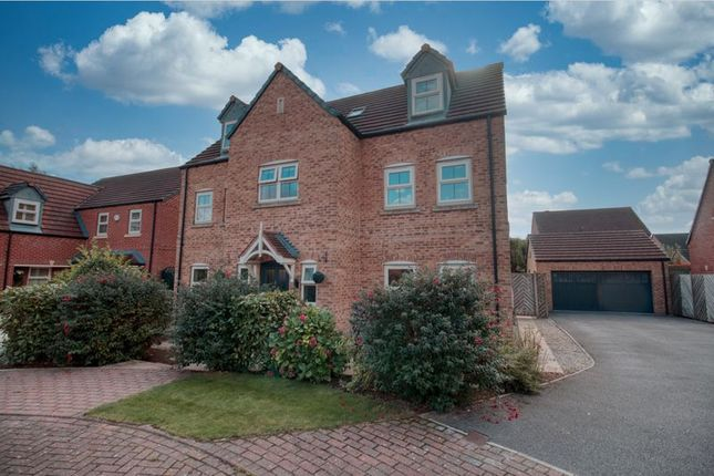 Thumbnail Detached house for sale in Summer Green Way, Crowle, Scunthorpe