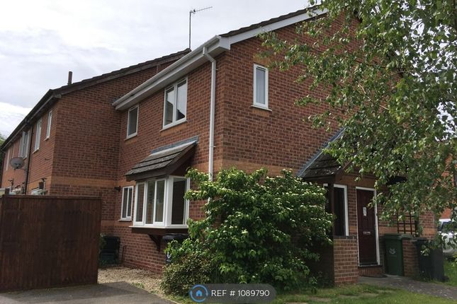 1 bed end terrace house to rent in Burgess Close, Worcester WR4