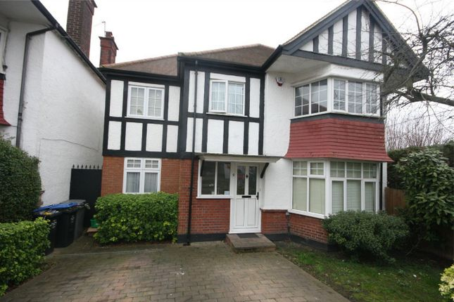Thumbnail Detached house to rent in Wickliffe Gardens, Wembley, Greater London