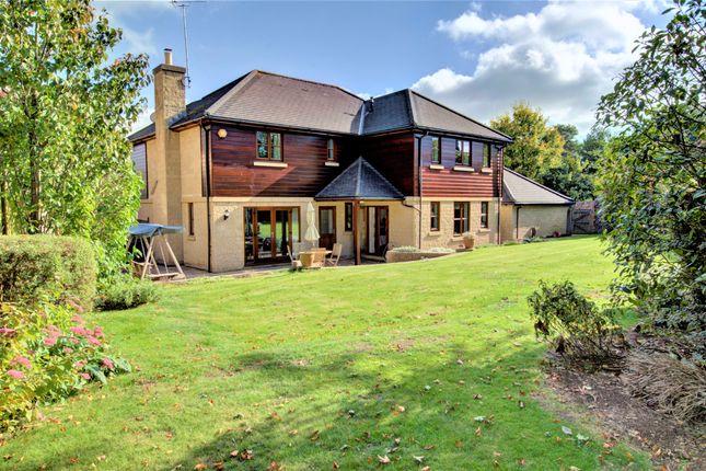 Thumbnail Detached house for sale in Claverton Drive, Claverton Down, Bath