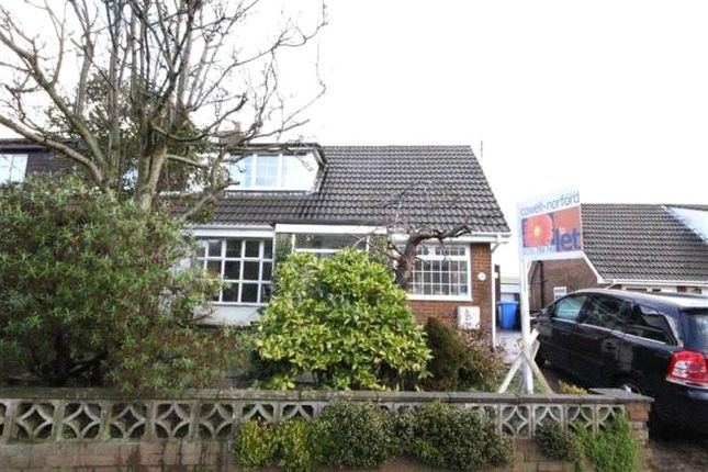 Thumbnail Semi-detached house to rent in Alpine Drive, Milnrow, Rochdale