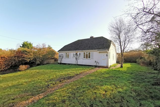 Thumbnail Detached bungalow to rent in Great Durnford, Salisbury