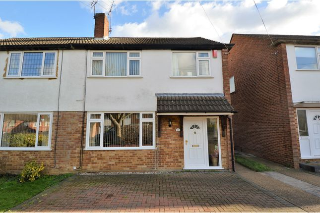 Thumbnail Semi-detached house for sale in Pinewood Way, Brentwood