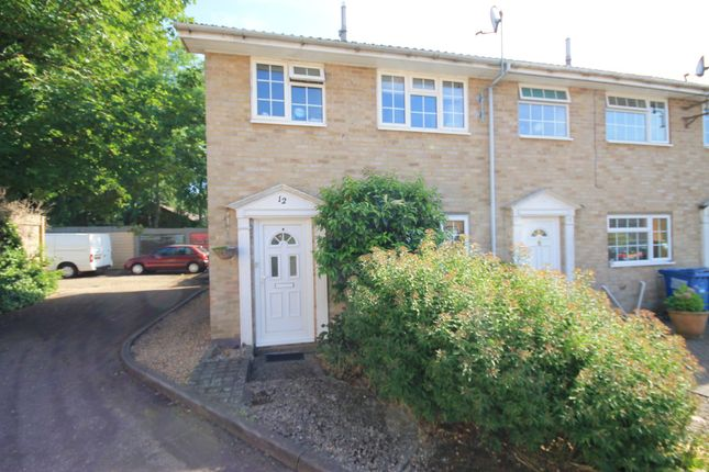 Thumbnail End terrace house for sale in Millins Close, Owlsmoor, Sandhurst