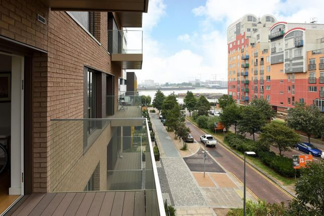 Balcony of The Norton, John Harrison Way, Lower Riverside, Greenwich Peninsula SE10