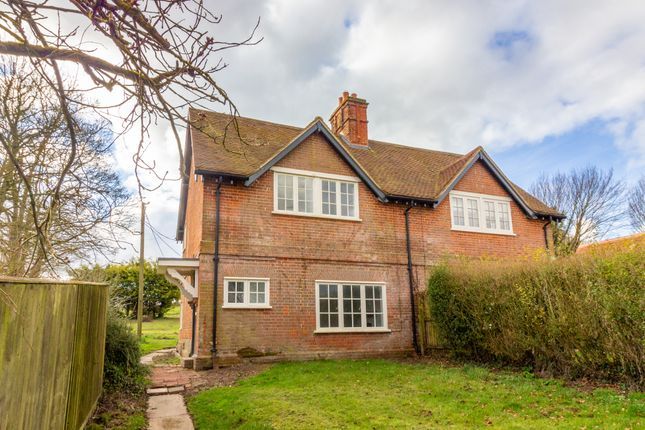 Thumbnail Semi-detached house to rent in Tichborne, Alresford