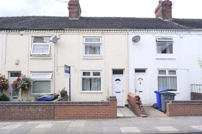 Thumbnail Terraced house for sale in Leek Road, Milton, Stoke-On-Trent