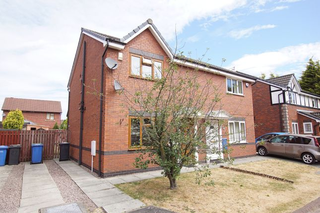 Thumbnail Semi-detached house for sale in Helmsley Close, Warrington