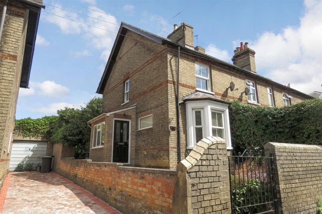 Thumbnail End terrace house to rent in London Road, Biggleswade