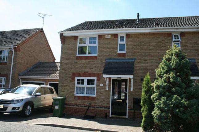 Thumbnail Semi-detached house to rent in Waverley Road, Laindon, Basildon