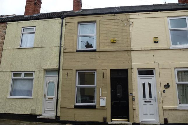 Thumbnail Terraced house to rent in Gedling Street, Mansfield