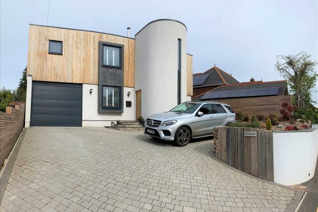 Thumbnail Detached house for sale in Crossmead, Denver Road, Topsham