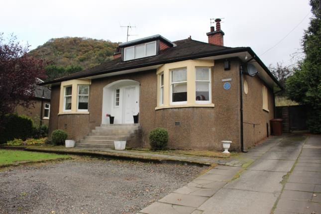 Thumbnail Bungalow for sale in Stirling Road, Milton, Dumbarton, West Dunbartonshire
