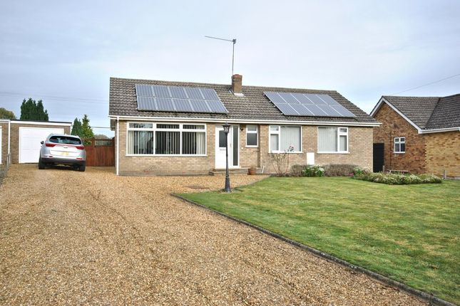 Thumbnail Detached bungalow for sale in Springfield Close, Crimplesham, King's Lynn