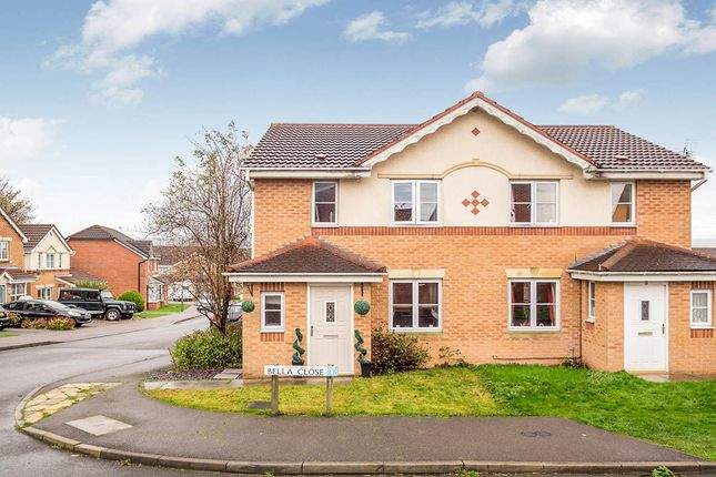 Thumbnail Semi-detached house for sale in Bella Close, Langley Mill, Nottingham