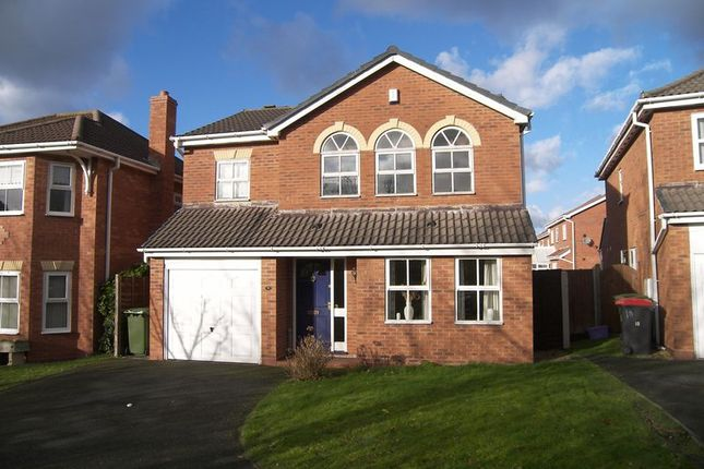 Thumbnail Detached house to rent in Monet Close, Telford