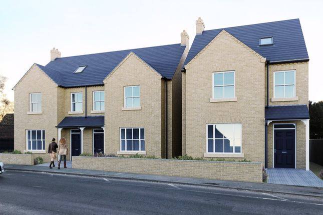 Thumbnail Detached house for sale in High Street, Milton, Cambridge