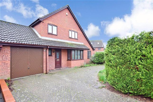 Thumbnail Detached house for sale in Lucy Avenue, Folkestone, Kent