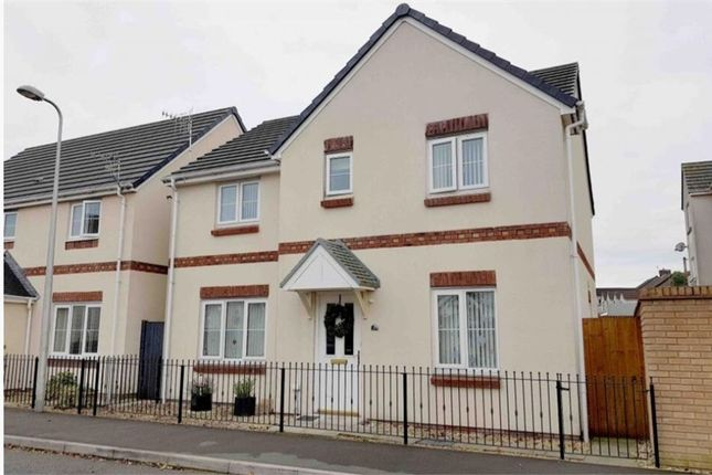 Thumbnail Detached house for sale in Village Drive, Gorseinon, Swansea, West Glamorgan