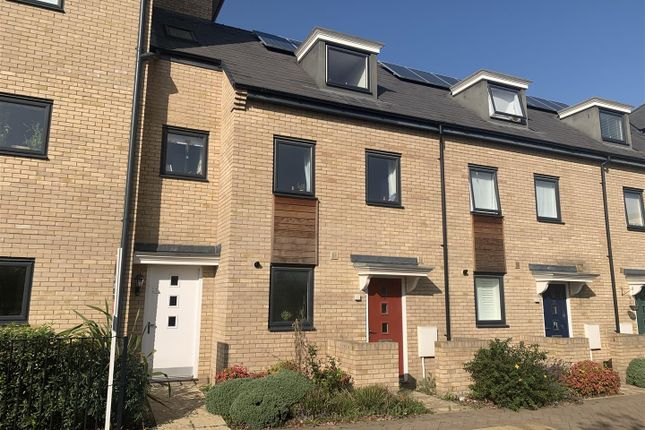 Thumbnail Town house for sale in Unwin Square, Cambridge