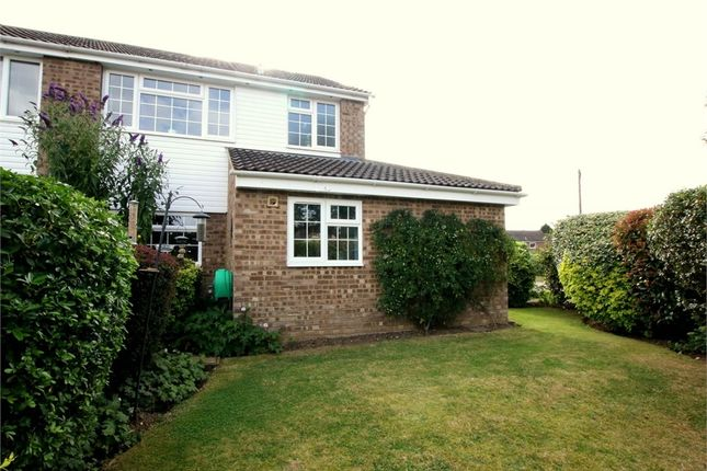 Thumbnail Semi-detached house for sale in Hayling Avenue, Little Paxton, St. Neots