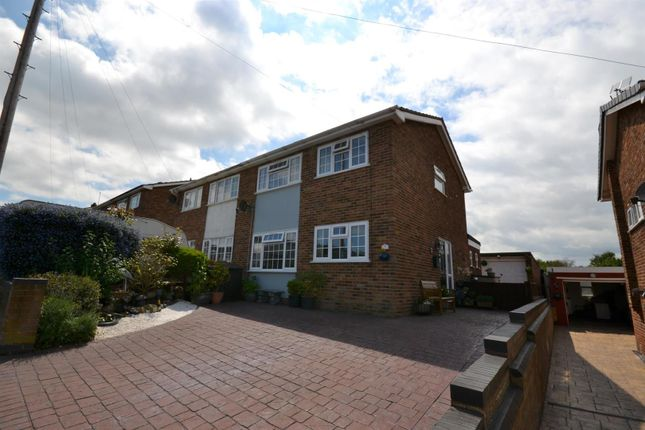 Thumbnail Semi-detached house for sale in Ray Avenue, Dovercourt, Harwich
