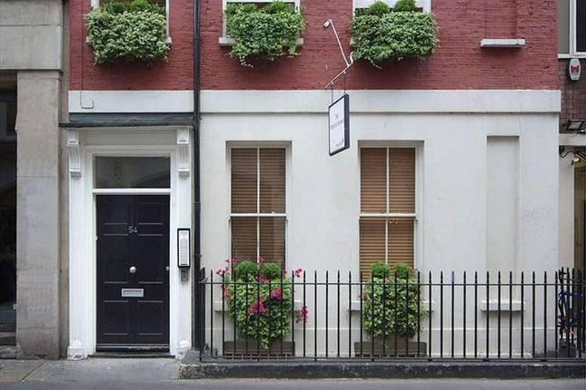 Serviced office to let in 54 Poland Street, London