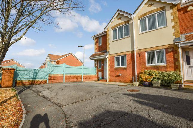Thumbnail Semi-detached house for sale in Sorrel Drive, Penpedairheol, Hengoed