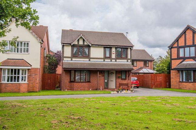 Thumbnail Detached house for sale in Vicarage Gardens, Burscough, Ormskirk