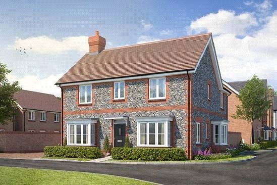 Thumbnail Detached house for sale in Cresswell Park, Roundstone Lane, Angmering