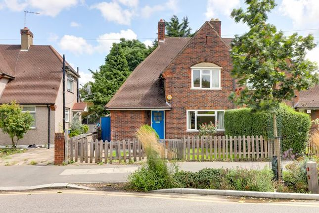 Thumbnail Semi-detached house for sale in Haselbury Road, Edmonton