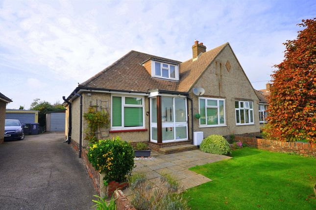 Thumbnail Semi-detached bungalow for sale in St. Annes Road, Lower Willingdon, Eastbourne
