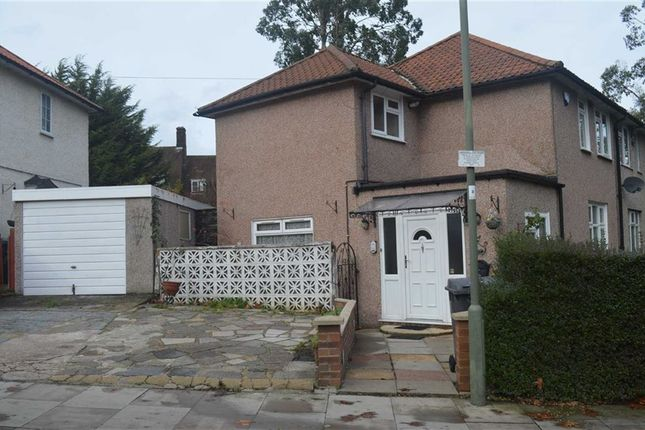 Thumbnail Semi-detached house for sale in Silkstream Road, Burnt Oak, Middlesex