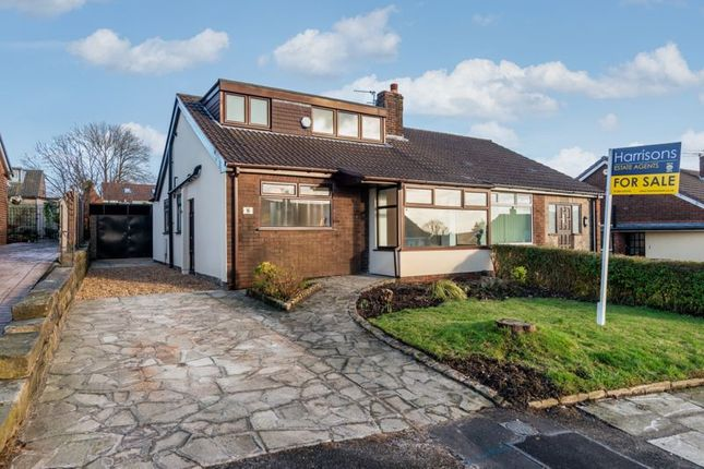 Thumbnail Semi-detached bungalow for sale in Molyneux Road, Westhoughton, Bolton, Lancashire.