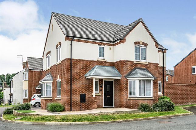 Thumbnail Detached house for sale in March Drive, Dudley