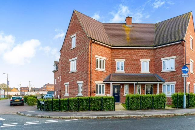 Thumbnail Semi-detached house for sale in Rochester Way, New Cardington, Bedford, Bedfordshire