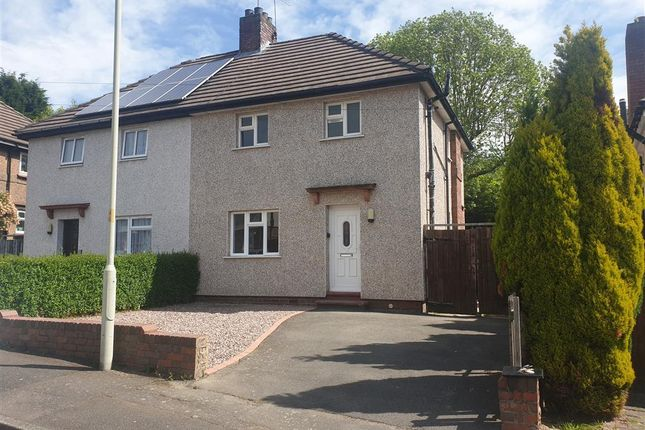 Thumbnail Semi-detached house to rent in Hawthorne Road, Dudley