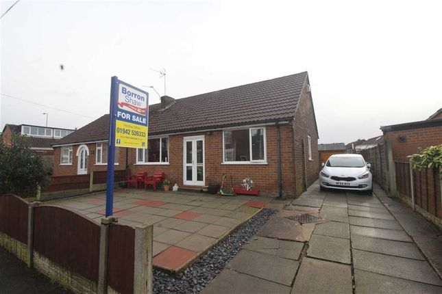 Thumbnail Semi-detached bungalow for sale in Athol Crescent, Hindley Green, Wigan