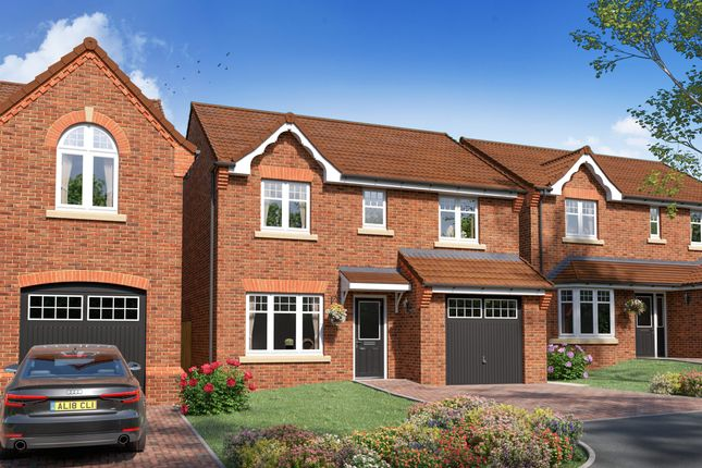 "4 bed detached house for sale in ""Plot 334 - The Baybridge"" at Lovesey Avenue, Hucknall, Nottingham NG15"