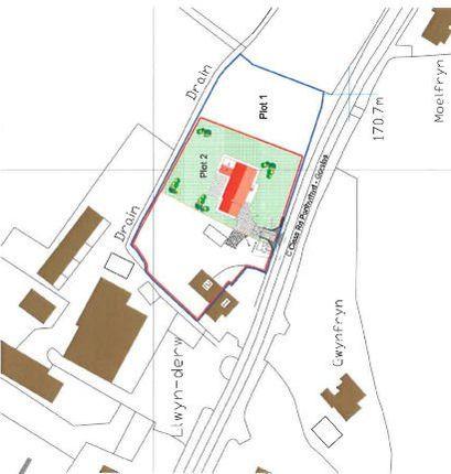Thumbnail Land for sale in Building Plot, Foelgastell, Carmarthen