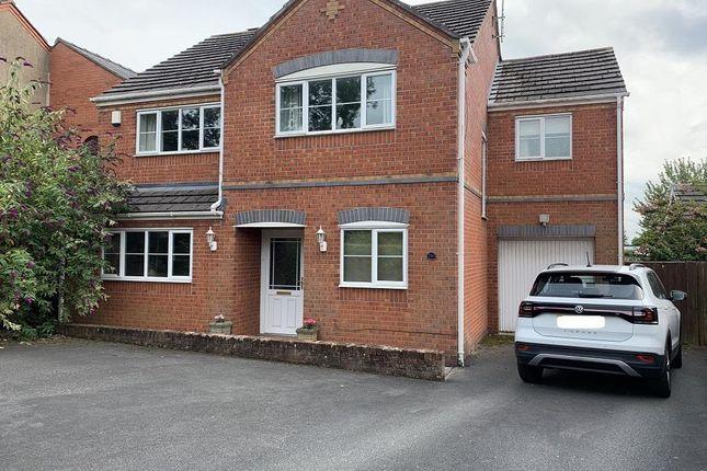 Thumbnail Detached house for sale in Rhosnesni Lane, Wrexham